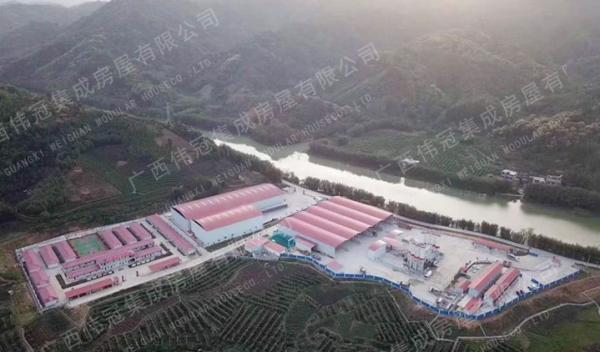 云南昌宁至保山高速公路1标左侧1号搅拌站