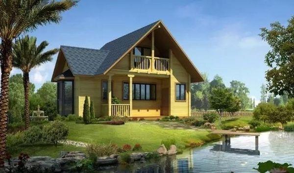 轻钢别墅和环境和谐发展