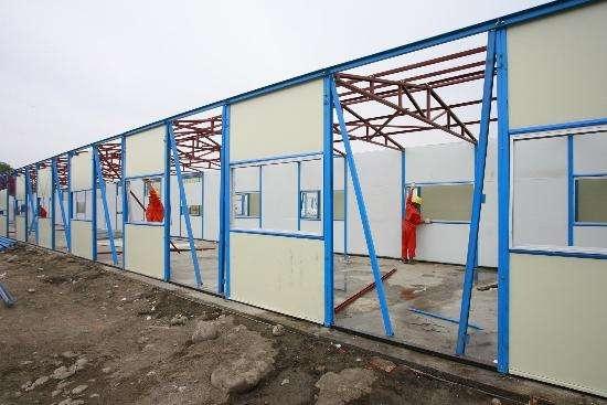 活动板房如何防风、防火、防置措施